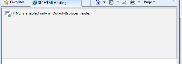 WebBrowser control running in-browser